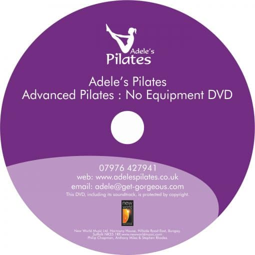 Advanced Pilates workout 45 minutes - Adele's Pilates